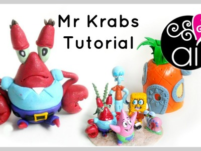 Mr Krabs | Polymer Clay Tutorial | Cake Topper DIY