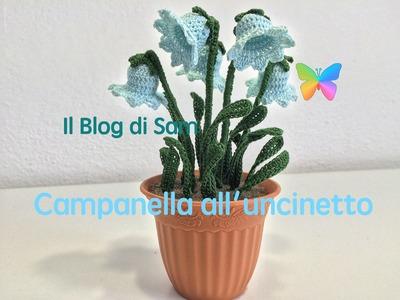 Spiegazione del fiore a Campanella all'uncinetto