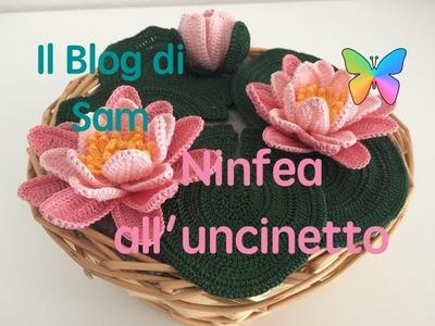 Spiegazione della Ninfea all'uncinetto