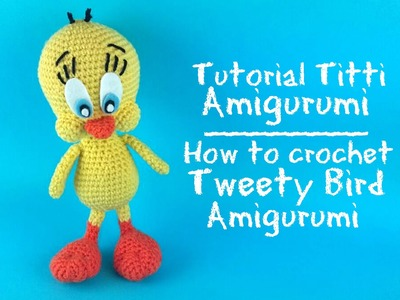 Amigurumi Tweety Bird : Crochet, Tutorial Orchidea Uncinetto Tunisino. Crochet ...
