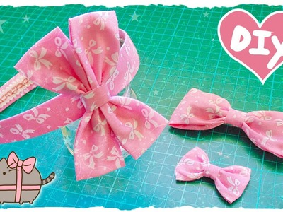 Tutorial: Fiocchi e Cerchietto per capelli | DIY Hair Accessory | Collab. ErikaKawaii