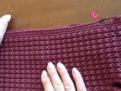 Bordo per nuovo look borsa -  Crochet