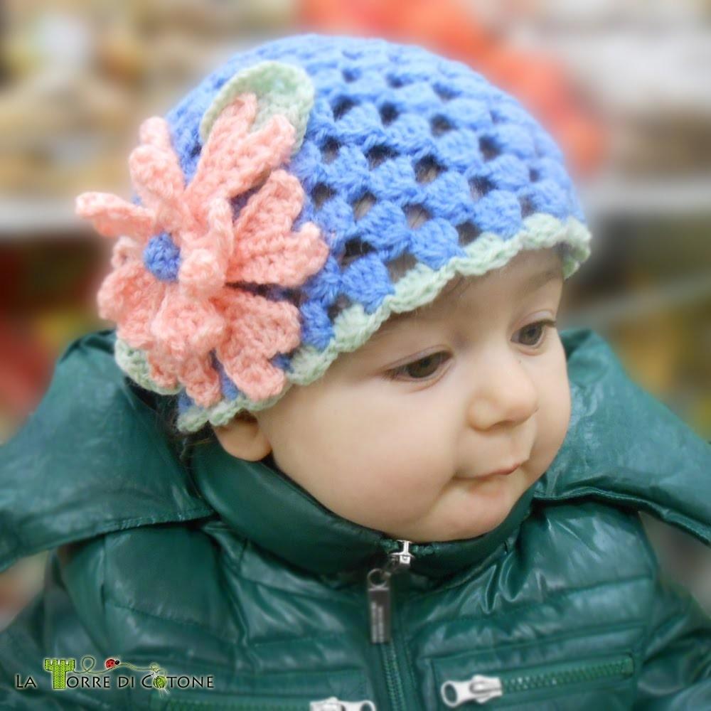 Come fare un cappellino all'uncinetto con il punto soffiato