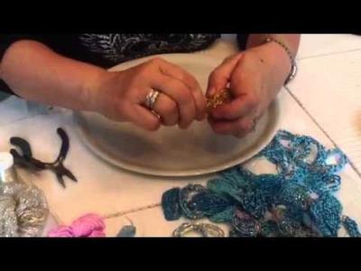 Creazioni di Licena: tutorial fiori di perle veneziane parte 2