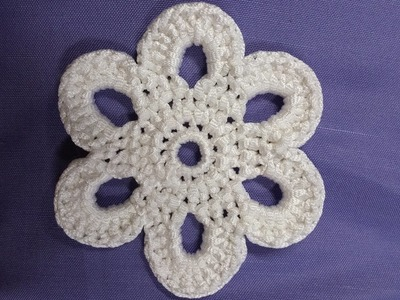 DIY - Fiore simil D&G uncinetto -  Crochet flower