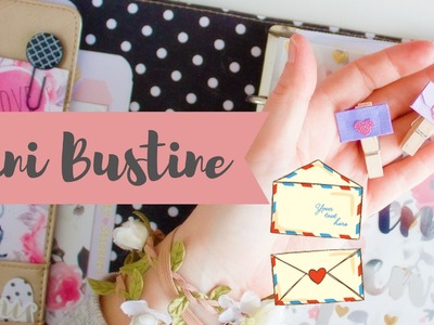 Mini Bustine Paperclip  - Tutorial DIY -   La Betty Planner