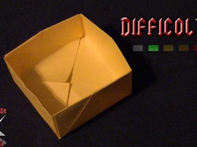 [ORIGAMI ITA] Scatola Semplice || Origami Utili.Per Bambini (E Non Solo!)