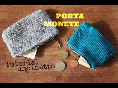 Portamonete - Tutorial Uncinetto