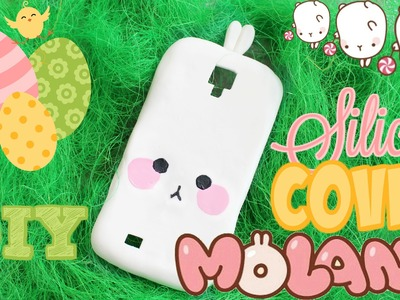 Realizziamo una cover in silicone di Molang!!