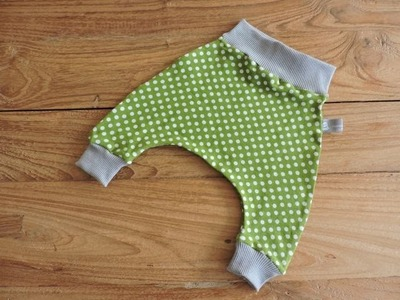 Tutorial Baby Harem Pants 0-3 mesi
