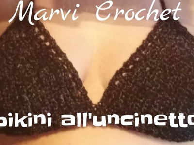 Tutorial bikini all'uncinetto, crochet bikini top