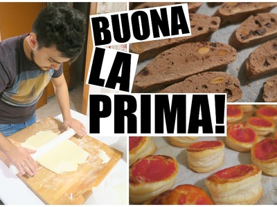 Vlog 29 Gennaio | BUONA LA PRIMA! ( FINALMENTE)  || LifeOfCesar     イタリア パスタ ピザ