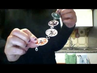 Tutorial - Come fare collane con cialde del caffè