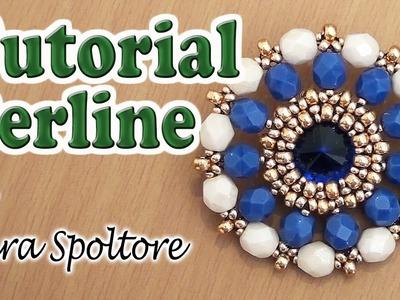 Come fare un ciondolo con perline - Come incastonare con le perline - Come fare gioielli fai da te