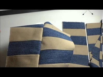 Come realizzare  una custodia per tablet- riciclo jeans parte 2. Ipad case