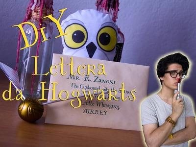 DIY - Realizza la tua personale Lettera da Hogwarts