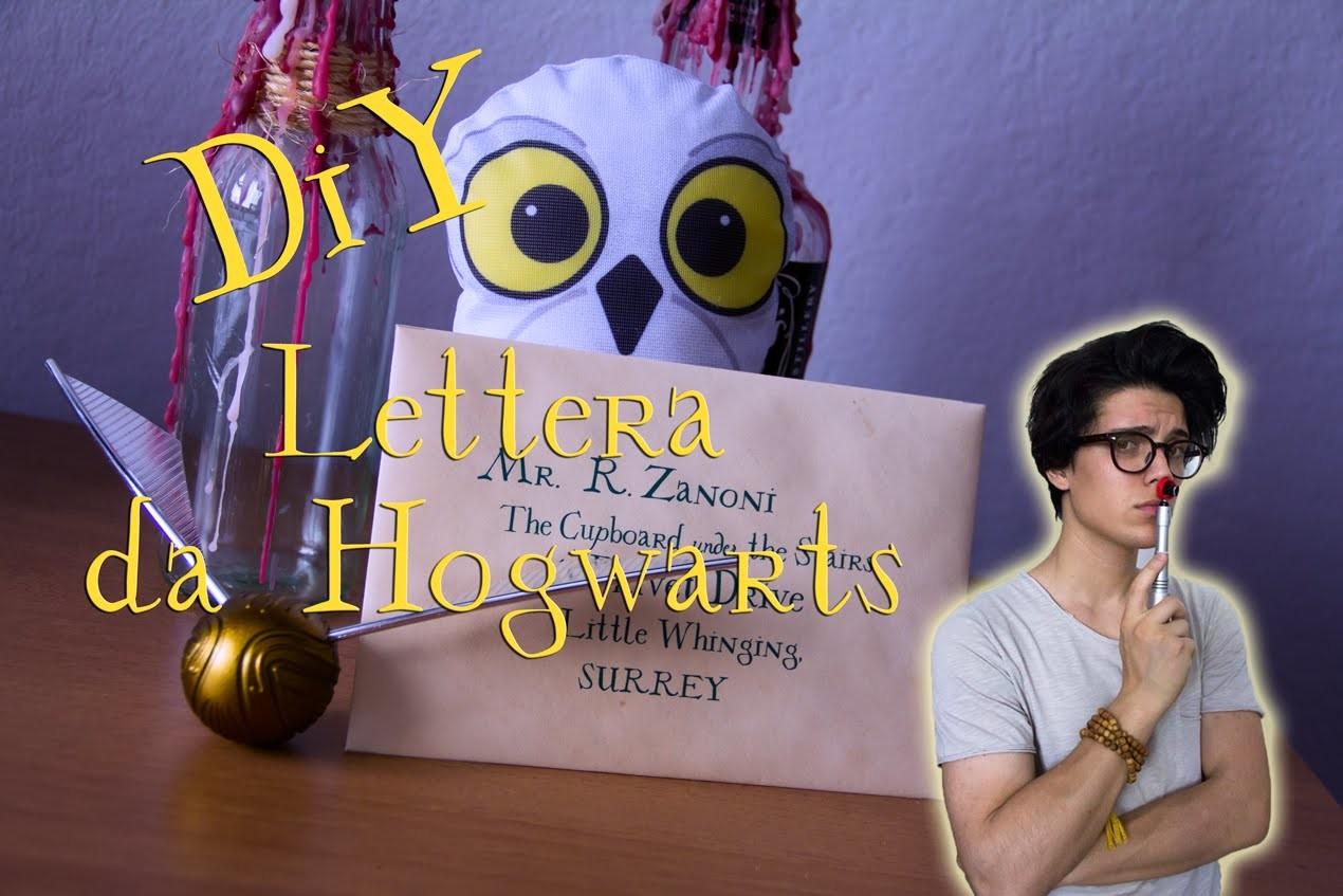 Diy realizza la tua personale lettera da hogwarts - Realizza la tua cucina ...