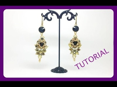 Orecchini Art Tutorial con perline | collaborazione con Artbijoux.