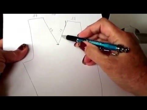 Come calcolare le diminuzioni per fare un collo a V