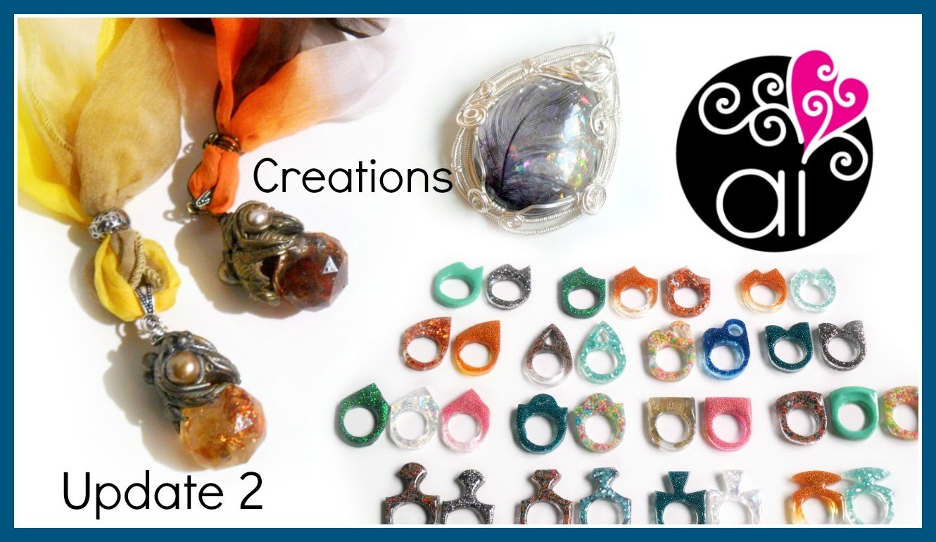 Creations Update 2 di 2   Polymer Clay   Resina   Wire Wrapping