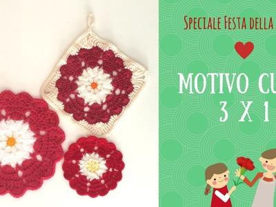 Festa della Mamma - Motivo cuori 3x1