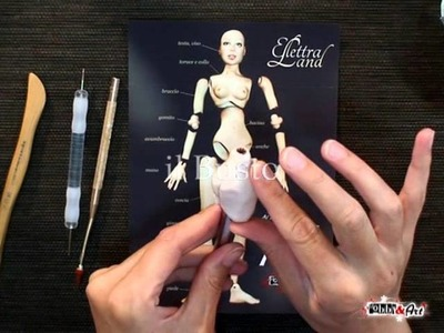 OOAK Vol. 4 - BJD Ball Jointed Doll - in DVD Con Elettra Land