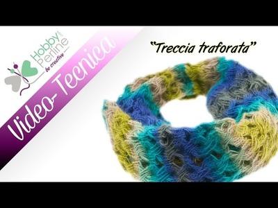 Treccia traforata   TECNICA - HobbyPerline.com