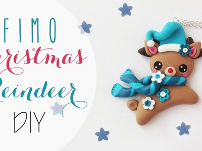 Tutor: Renna natalizia in Fimo - Fimo clay Christmas Reindeer