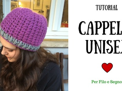 Tutorial - Cappello unisex