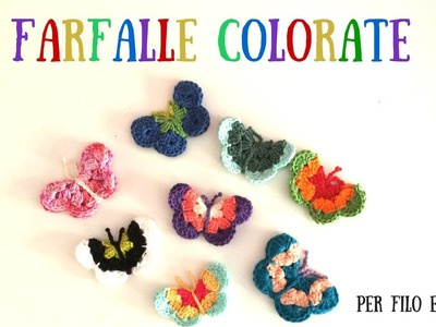 Tutorial - Farfalle Colorate
