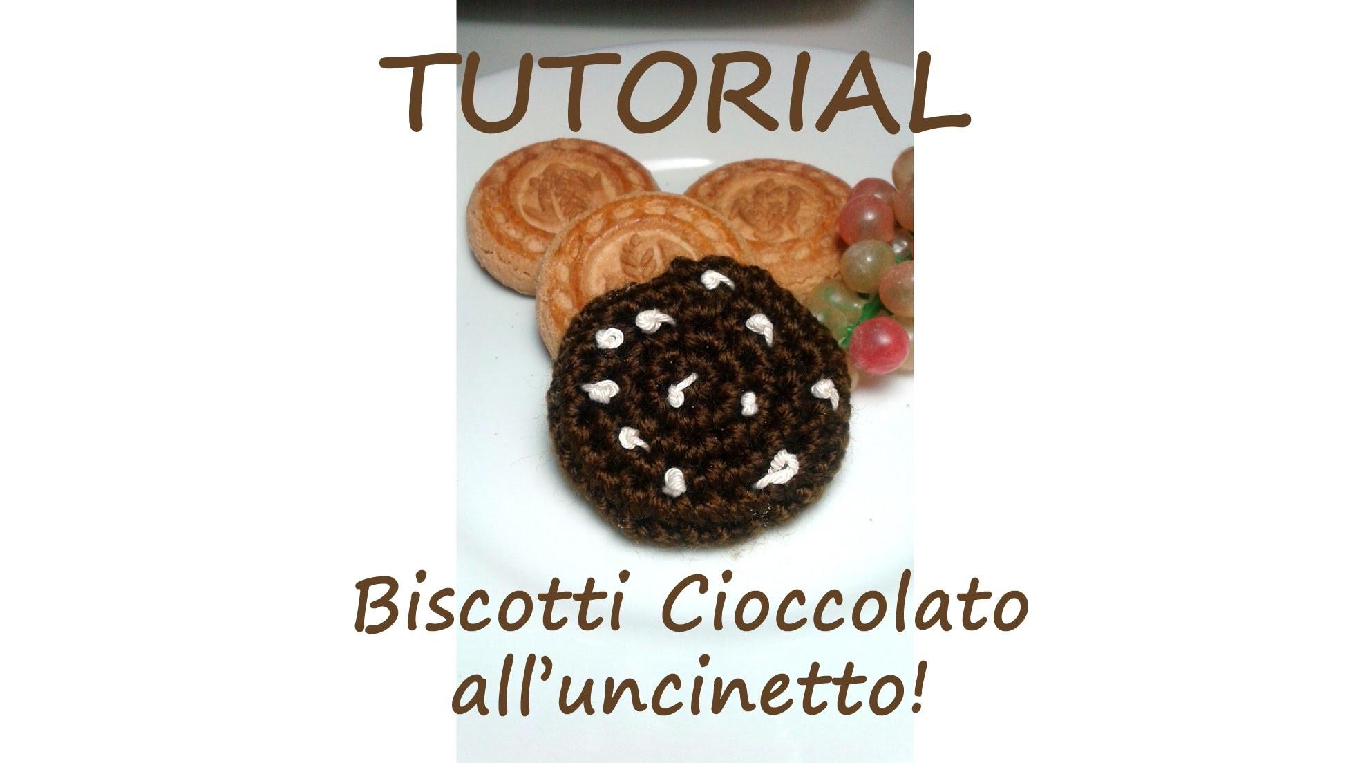 Tutorial Uncinetto - Biscotto cioccolato - per super principianti!