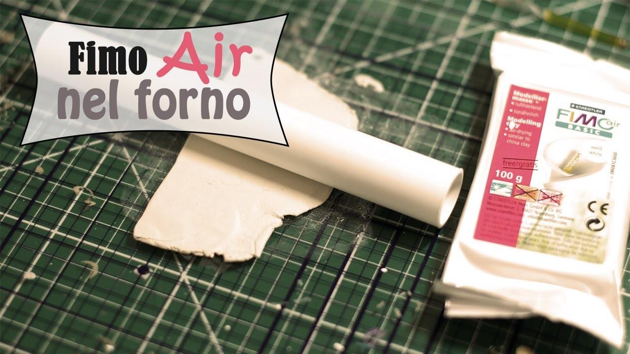 Cuocere il Fimo Air | Tutorial Fimo