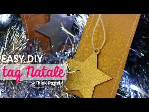 DIY Gift Tag + Addobbo Albero di Natale
