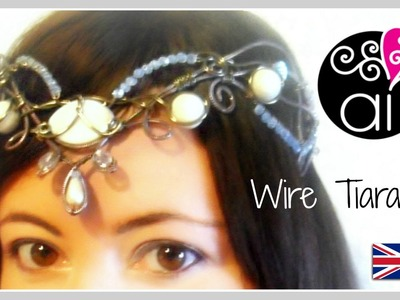 Wire Tiara DIY | Wire Wrapping Tutorial | Wedding & Ceremony ENG
