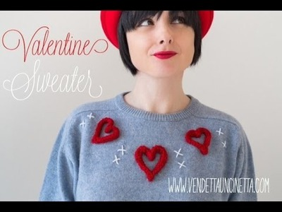 Tutorial San Valentino Refashion .  Vendetta Uncinetta