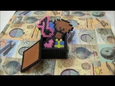Tutorial - Come fare un fiocco con gli hama beads