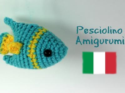 Pesciolino Amigurumi | World Of Amigurumi