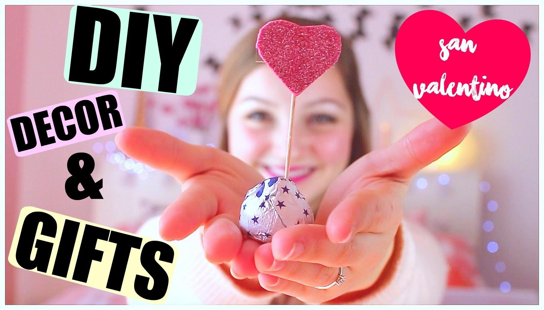 San Valentino LAST MINUTE  DIYS ROOM DECOR & GIFT IDEAS !    Gemminamakeup