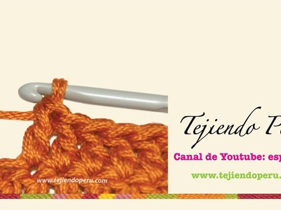 Crochet: punto alto o vareta