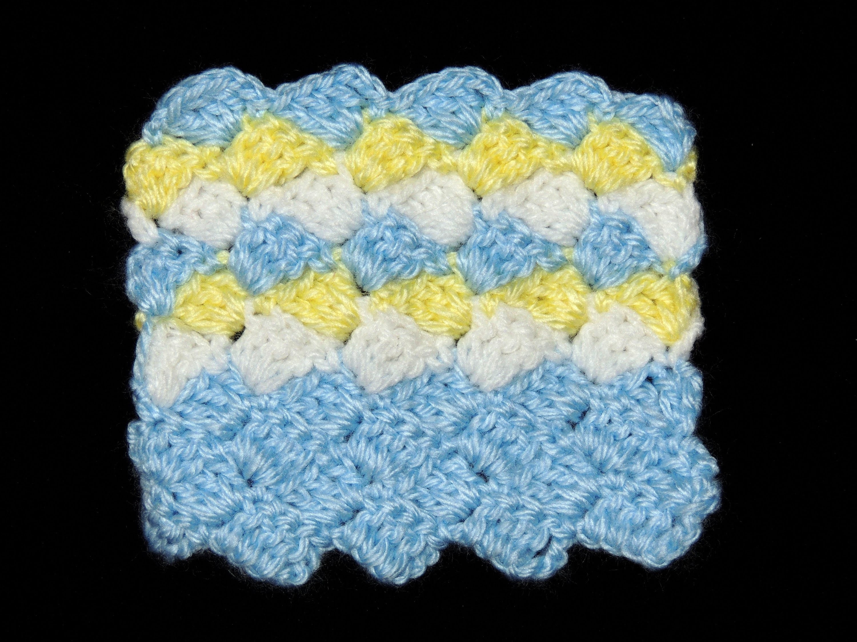 Crochet : Punto Escalera