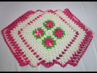 Uncinetto Crochet Tutorial Centro Tavola curto