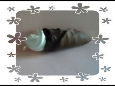 DIY Polymer clay: tutorial ice cream. gelato con fimo liquid e silicone!