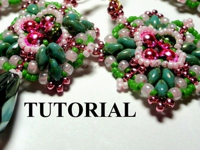 DIY Video Tutorial superduo perline: parure Bon Bon Style