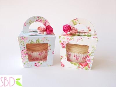 Tutorial: Scatola Porta Cupcake - Cupcake Gift Box