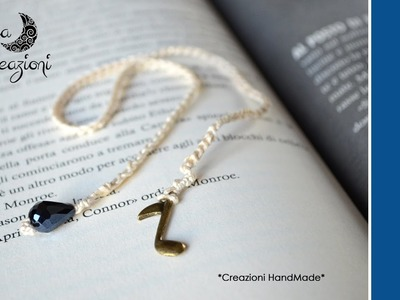 Tutorial: Segnalibro all'uncinetto con charms | Per principianti | How to make crochet bookmark