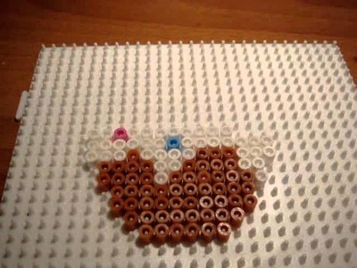 Hama Beads (pyssla) - Cupcake