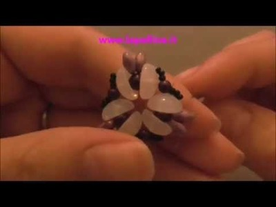 Tutorial ciondolo Trial con Piggy beads