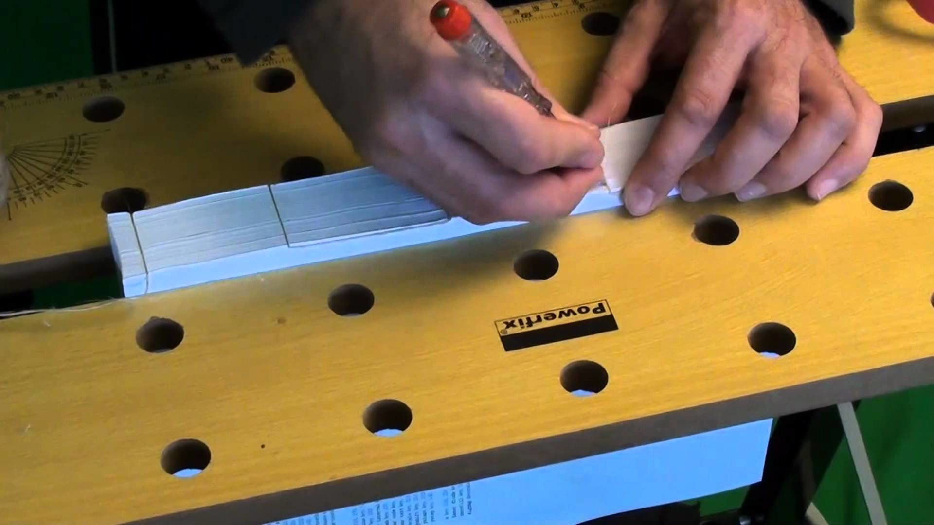 How to bind a self made book  - Rilegatura di libri facile e veloce