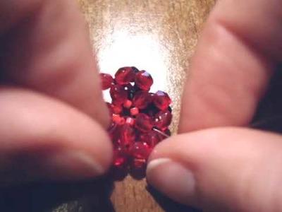 Sarubbest - Tutorial Anello Swarovski: creare un anello con i bicono 2.2 | Tutorial perline