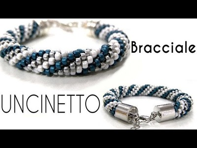 Bracciale de Conteria con Uncinetto  - Crochet